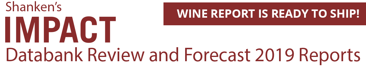 Shanken's Impact Wine report Ready to ship! - Databank Review and Forecast 2019 Reports